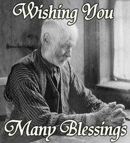 Wishing you Many Blessings