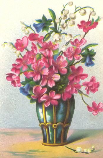 Vintage Floral Pictures