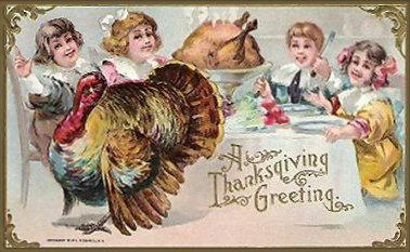 A Thanksgiving Greeting!